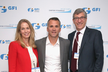 Martin St. Louis Annual Charity Day Hosted By Cantor Fitzgerald, BGC and GFI - GFI Office - Inside