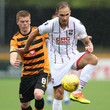 Martin Woods Alloa Athletic vs Ross County - Betfred Cup