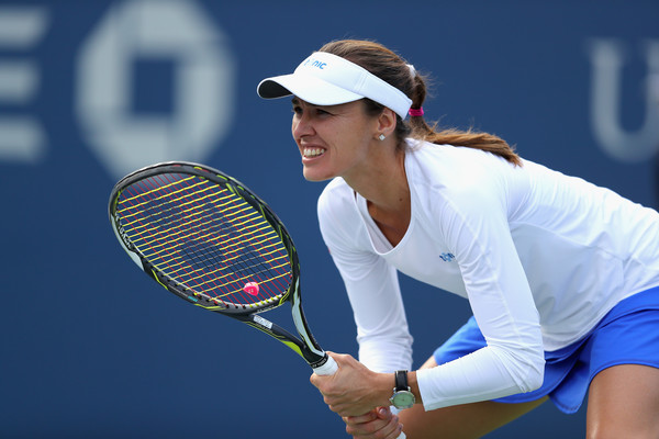 Martina Hingis Wins In Doubles With Her Smarts