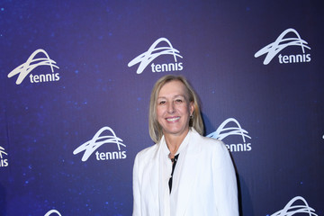 Martina Navratilova Off Court at the 2018 Australian Open