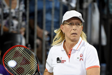 Martina Navratilova Sir Elton John and Billie Jean King Host the World TeamTennis Smash Hits Charity Event