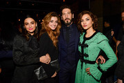 """Floriana Lima, Giorgia Whigham, Jon Bernthal and Amber Rose Revah attend Marvel's """"The Punisher"""" Los Angeles Premiere at ArcLight Hollywood on January 14, 2019 in Hollywood, California."""