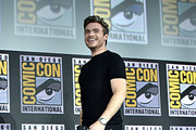 Richard Madden of Marvel Studios' 'The Eternals' at the San Diego Comic-Con International 2019 Marvel Studios Panel in Hall H on July 20, 2019 in San Diego, California.