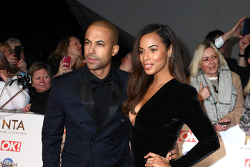 Marvin Humes Rochelle Humes National Television Awards 2020 - Red Carpet Arrivals