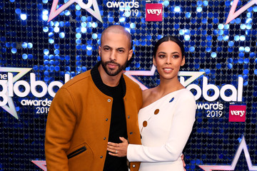 Marvin Humes Rochelle Humes The Global Awards 2019 - Red Carpet Arrivals