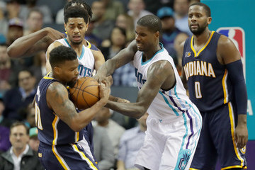 Marvin Williams Indiana Pacers v Charlotte Hornets
