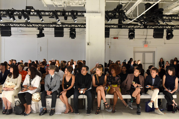 Supima Design Competition - Front Row - Spring 2016 New York Fashion Week: The Shows