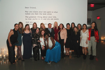 Mary Ann Reilly Visa x IMG Fashion Holiday Dinner