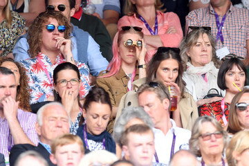 Mary Charteris The evian Live Young Suite On The Opening Day Of The Championships At Wimbledon 2017