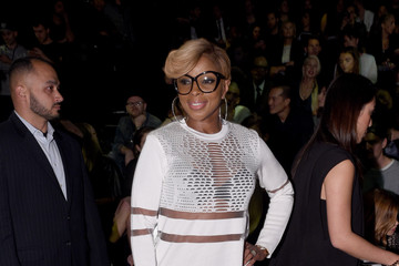 Mary J. Blige Front Row at Alexander Wang X H&M Launch