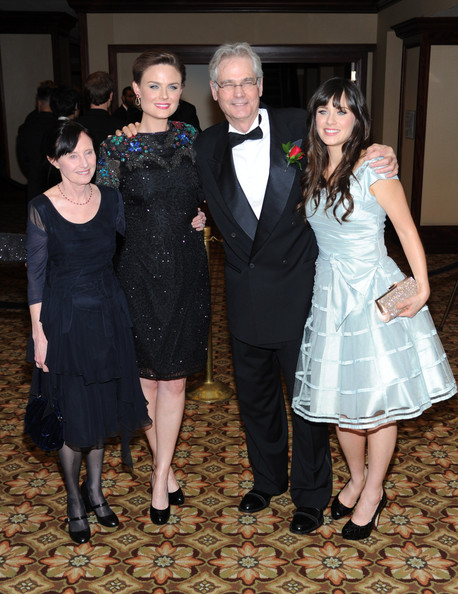 24th Annual American Society Mary Jo Deschanel Family