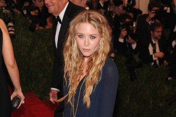 Mary-Kate Olsen Red Carpet Arrivals at the Met Gala