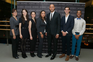 Mary Leach Derek Jeter's Turn 2 Foundation Event in NYC