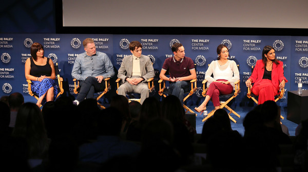 The Paley Center For Media's 2018 PaleyFest Fall TV Previews - Netflix - Inside [paleyfest fall tv previews,event,community,team,design,convention,performance,electronic device,brand,media,competition,mary rohlich,robia rashid,amy okuda,keir gilchrist,stage,l-r,netflix,paley center for media,inside]
