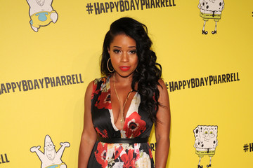 Mashonda Tifrere Pharrell Williams Celebrates 41st Birthday With SpongeBob SquarePants Themed Party - Arrivals