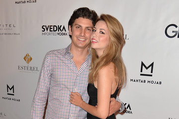 Masiela Lusha with cool, Husband Ramzi Habibi