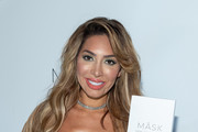 Farrah Abraham attends Hemp Garden NYC's Official New York City Launch Hosted by Teresa Giudice + Tiffany Mejia + Younes Bendjima on April 25, 2019 in New York City.