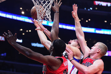 Mason Plumlee Portland Trail Blazers v Los Angeles Clippers