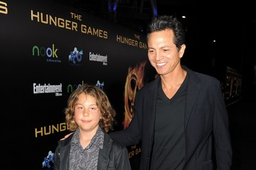 Mateo bravery bratt premiere of lionsgate s quot the hunger games quot red
