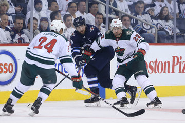 Mathew Dumba Minnesota Wild vs. Winnipeg Jets - Game One