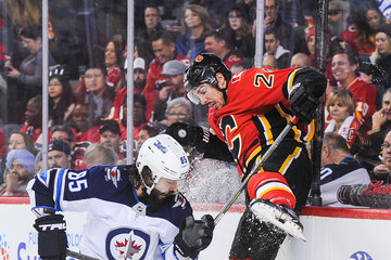 Mathieu Perreault Winnipeg Jets v Calgary Flames