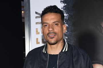 Matt Barnes Premiere Of Codeblack Films' 'Traffik' - Red Carpet