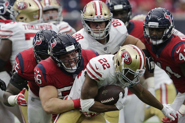 Matt Breida San Francisco 49ers v Houston Texans