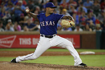 Matt Bush New York Yankees Vs. Texas Rangers