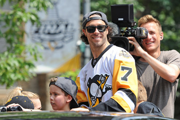 Matt Cullen Pittsburgh Penguins Victory Parade and Rally