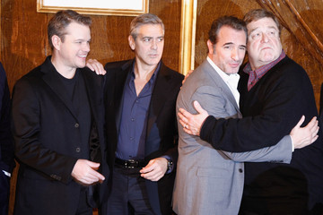 Matt Damon 'The Monuments Men' Photo Call in Paris