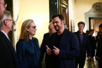 Matt Dillon Party Honouring Meryl Streep Hosted by US Embassy