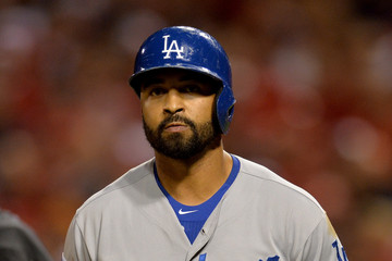 Matt Kemp Los Angeles Dodgers v St Louis Cardinals