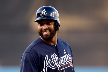 Matt Kemp Atlanta Braves v Los Angeles Dodgers