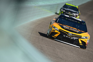 Matt Kenseth Homestead-Miami Speedway - Day 2
