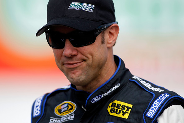 Matt Kenseth, driver of the #17 Ford EcoBoost Ford, walks on the grid during qualifying for the NASCAR Sprint Cup Series Toyota/Save Mart 350 at Sonoma on June 22, 2012 in Sonoma, California. (June 21, 2012 - Source: Todd Warshaw/Getty Images North America)