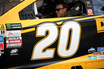 Matt Kenseth NASCAR Victory Lap Fueled by Sunoco