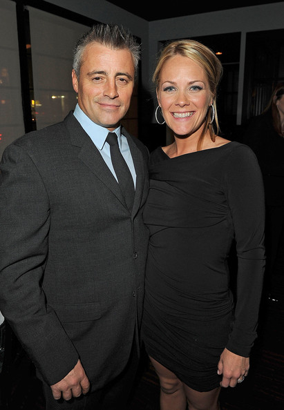 Matt LeBlanc with beautiful, Girlfriend Andrea Anders