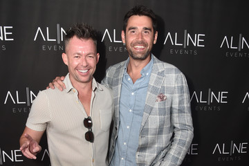 Matt Lyons Issac Ryan Brown Hollywood Hills Soiree Curated By Bespoke Event Company, Aline Events