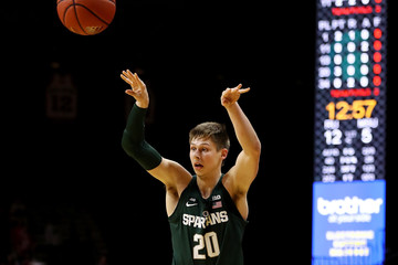Matt McQuaid Michigan State v Rutgers