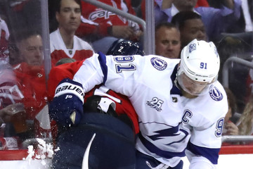 Matt Niskanen Tampa Bay Lightning Vs. Washington Capitals - Game Four