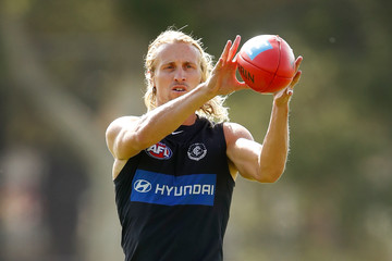 Matt Shaw Carlton Blues Training Session