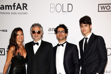 Photo of Andrea Bocelli & his  Son  Matteo Bocelli