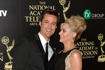 Matthew Atkinson Hunter King The 41st Annual Daytime Emmy Awards - Arrivals