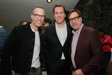 Matthew Belloni Andrew Weitz MR PORTER Celebrates 'The Hollywood Reporter's Annual Watch Issue