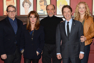 Matthew Broderick 'It's Only a Play' Cast Photo Call