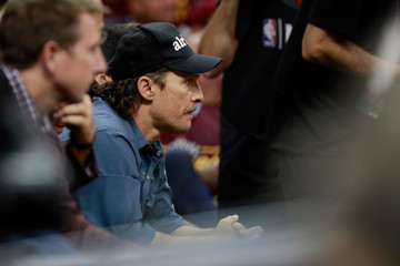 Matthew McConaughey Boston Celtics v Cleveland Cavaliers - Game Four