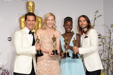 Matthew McConaughey Jared Leto Press Room at the 86th Annual Academy Awards