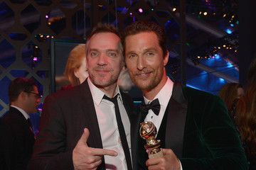 Matthew McConaughey Jean-Marc Vallée Celebs at the Universal/NBC/E! Golden Globes Afterparty