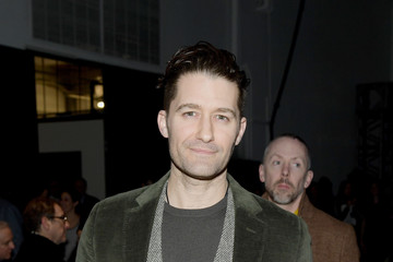 Matthew Morrison Todd Snyder - Front Row - February 2018 - New York Fashion Week: Mens'