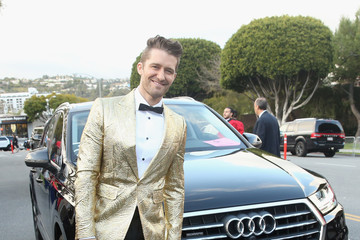 Matthew Morrison Audi Arrives At The 25th Annual Elton John AIDS Foundation's Academy Awards Viewing Party